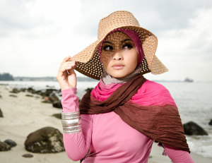 http://scanfree.org/how-to-wear-hijab-with-hat/
